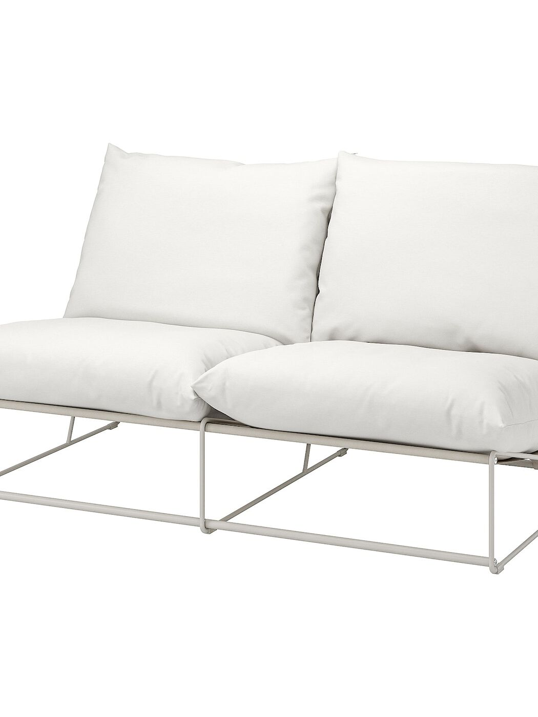 HAVSTEN 2er-Sofa, drinnen/draußen