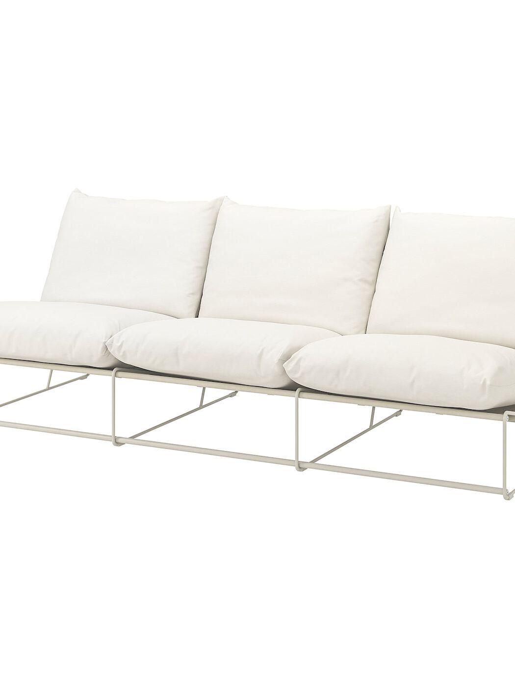 HAVSTEN 3er-Sofa, drinnen/draußen