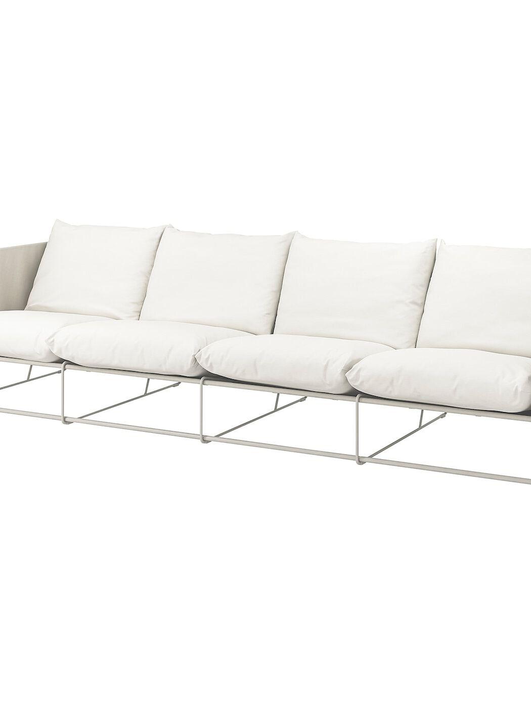 HAVSTEN 4er-Sofa, drinnen/draußen